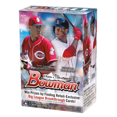 2018 Bowman Blaster/Value Box Retail