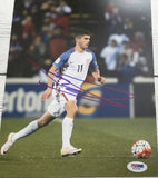 2016 Flawless Soccer 2nd Briefcase Pick Your Country Break #20(Promo: Christian Pulisic auto photo)