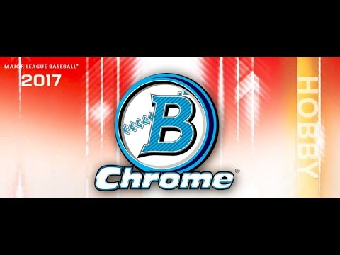 2017 Bowman Chrome Baseball Hobby Personal Box