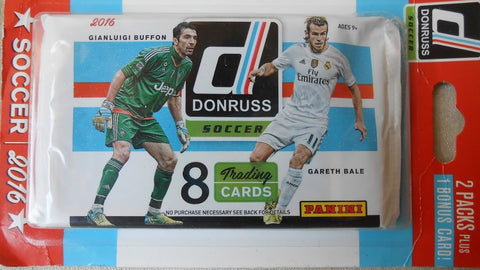 2016 Donruss Blister Pack(Includes 2 packs and Bonus Silver Parallel/s) PULISIC RC's