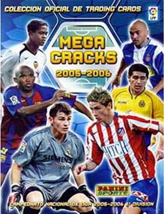 2005-06 Mega Cracks Pack (Messi 2nd year)