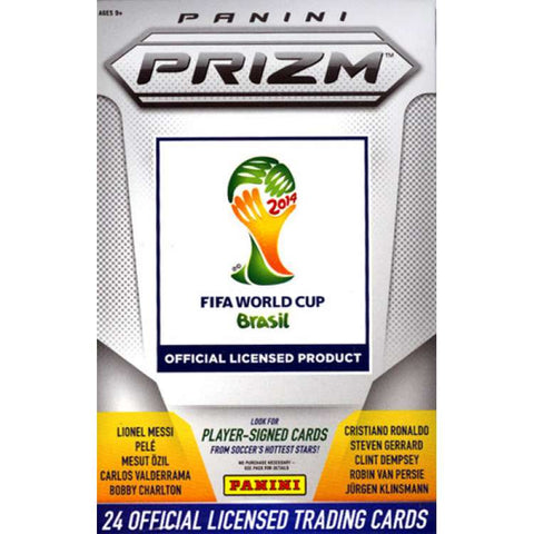 2014 World Cup Prizm Soccer Retail Box
