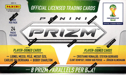 2014 World Cup Prizm Hobby Box
