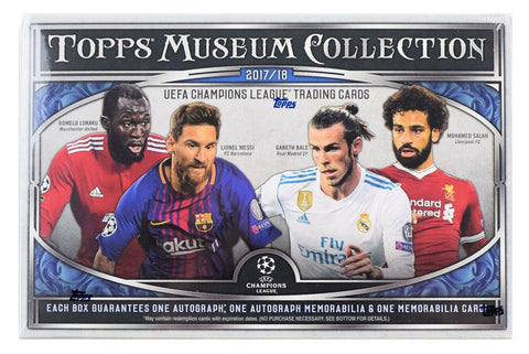 2017-18 Topps Museum Champions League Hobby Box (MBAPPE RC's)