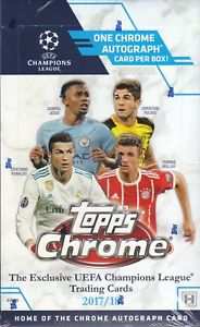 Topps Chrome Soccer Hobby Box
