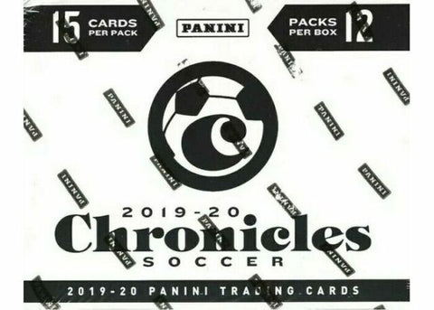 2019-20 Chronicles Soccer Retail Cello Pack