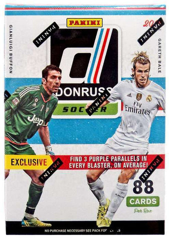2016-17 Donruss Soccer Blaster Box(Purple Parallels)