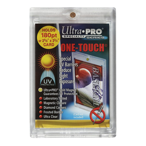 MAGNETIC/ONE TOUCH 180 POINT UV CARD HOLDER