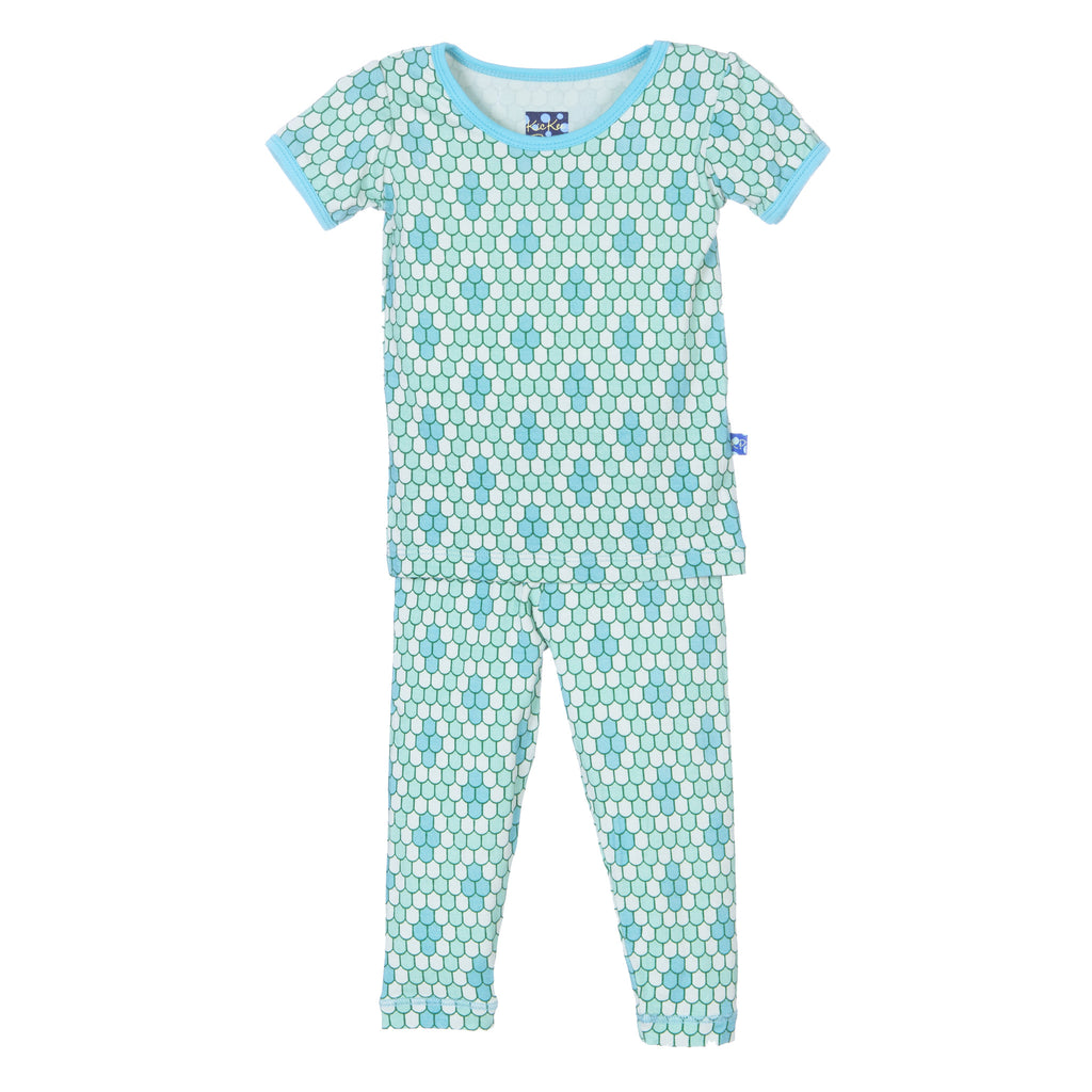 Kickee Pants Short Sleeve Pajama Set * Python