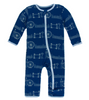 Kickee Pants Print Coverall with ZIPPER - London Cityscape