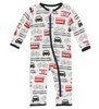 Kickee Pants Print Coverall with ZIPPER - London Transport
