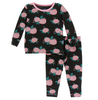 Kickee Pants Print Long Sleeve Pajama Set - English Rose Garden