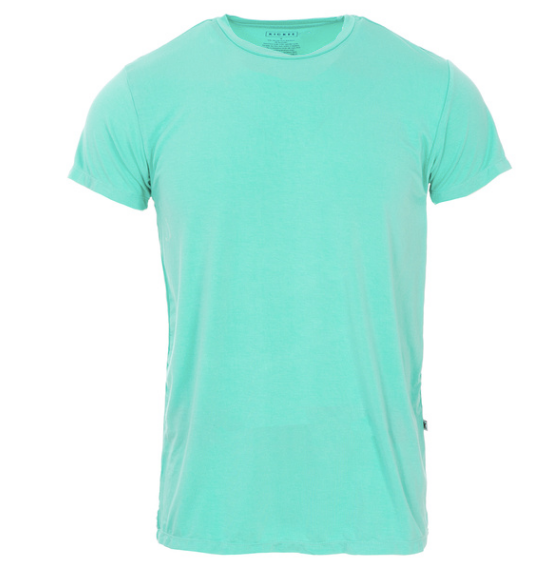 Kickee Pants Men's Basic S/S Tee - Glass