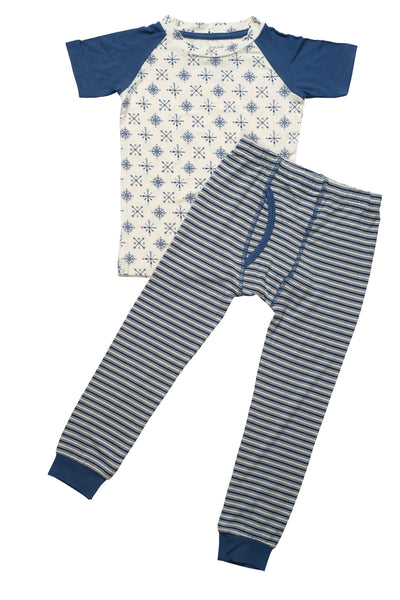 Sweet Bamboo Compass Rose Pajama Set