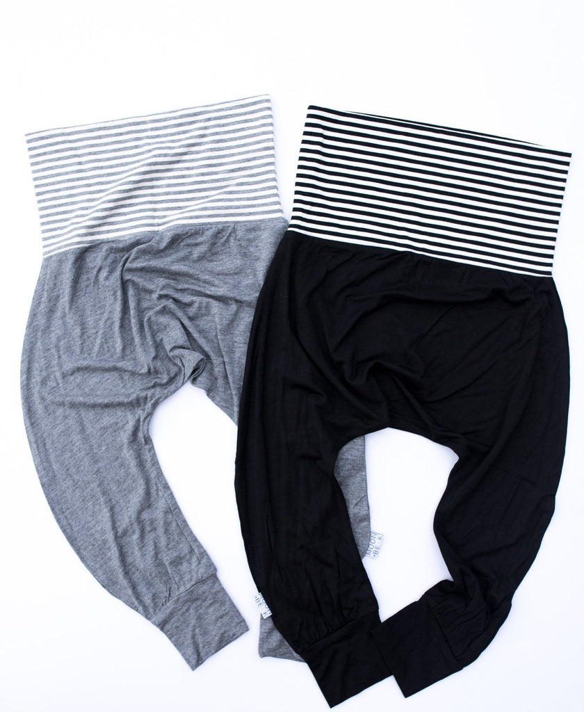 Moon + Beck * Gray Harem II Pant