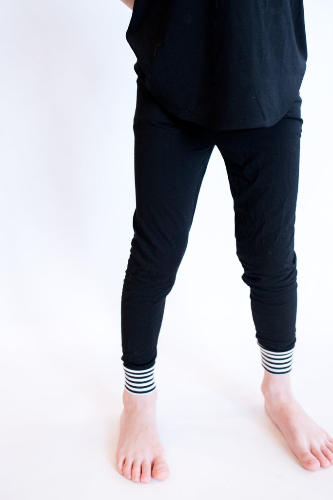 Moon + Beck * Black Legging