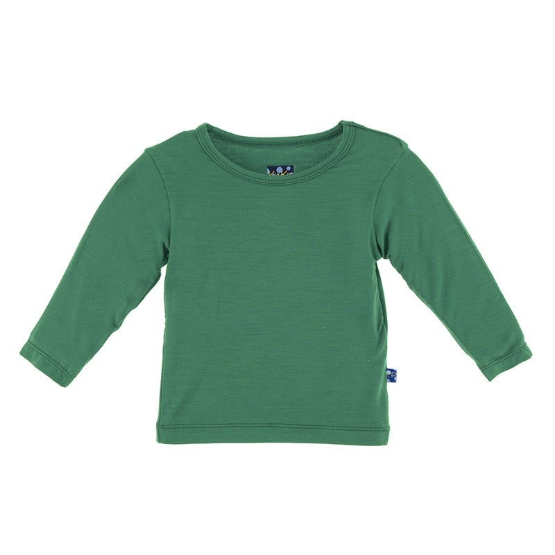 Shady Glade Solid Long Sleeve Tee