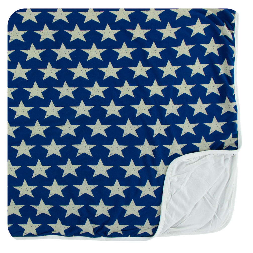 Kickee Pants Toddler Blanket * Vintage Stars