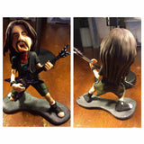 Dimebag Darrell of Pantera custom OOAK polymer clay sculpture - Fiendish Thingies - 2