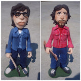 Flight Of the Conchords OOAK polymer clay sculpture - Fiendish Thingies - 1