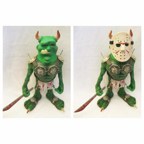 Jason the Troll OOAK polymer clay sculpture - Fiendish Thingies