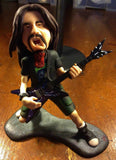 Dimebag Darrell of Pantera custom OOAK polymer clay sculpture - Fiendish Thingies - 1