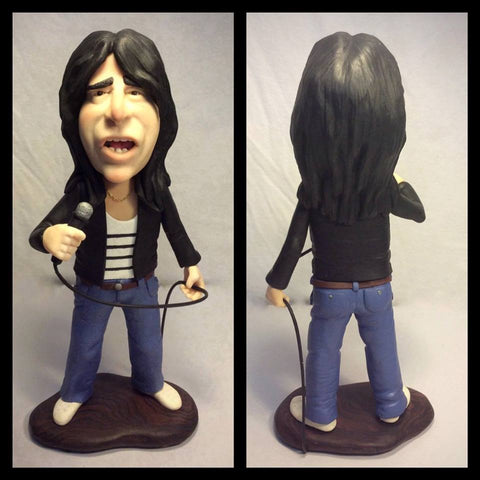 Steve Perry custom OOAK polymer clay sculpture - Fiendish Thingies