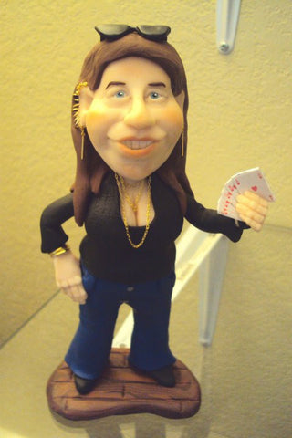 Camryn Mannheim custom OOAK polymer clay sculpture - Fiendish Thingies