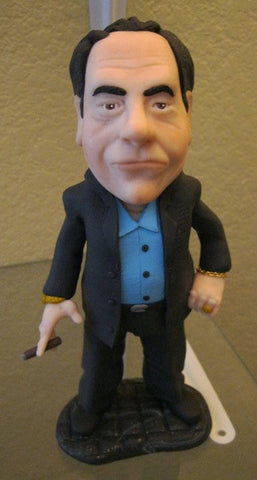 Tony Soprano custom OOAK polymer clay sculpture - Fiendish Thingies - 1
