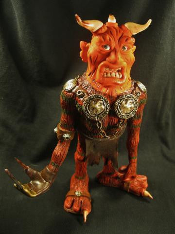 Freddy the Troll OOAK polymer clay sculpture - Fiendish Thingies - 1