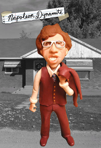 Napoleon Dynamite OOAK polymer clay sculpture