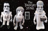 The Twilight Zone Doctor OOAK polymer clay sculpture Eye of the Beholder