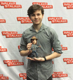 Zombie Carl from the Walking Dead OOAK polymer clay sculpture Chandler Riggs