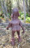 Balding Bigfoot OOAK polymer clay sculpture