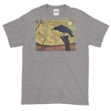 As The Crow Flies Short-Sleeve T-Shirt Mens Style