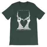 Love Made Devils Of Us Both Short-Sleeve Unisex T-Shirt Bella Brand