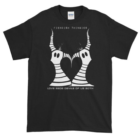 Love Made Devils of Us Booth Black Short-Sleeve T-Shirt Mens Style