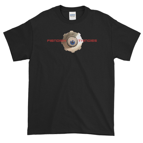 Fiendish Thingies Logo Short-Sleeve T-Shirt Men's Style