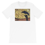 As the Crow Flies Short-Sleeve Unisex T-Shirt Bella Brand