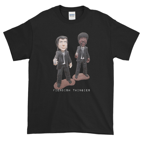 Pulp Fiction Sculpture Short-Sleeve T-Shirt Men's Style