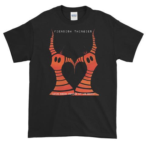 Love Made Devils Of Us Both Short-Sleeve T-Shirt Men's Style
