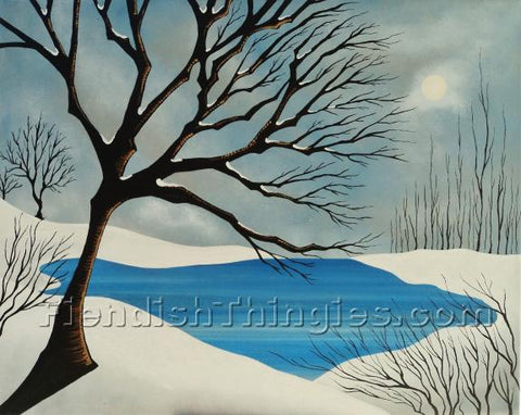 "A Winter Song 8"" x 10"" print"