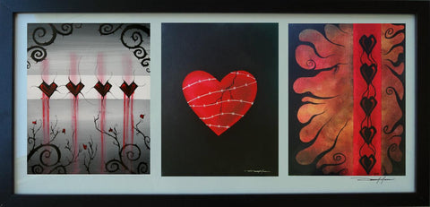 Heart Trio Collection - Fiendish Thingies - 1
