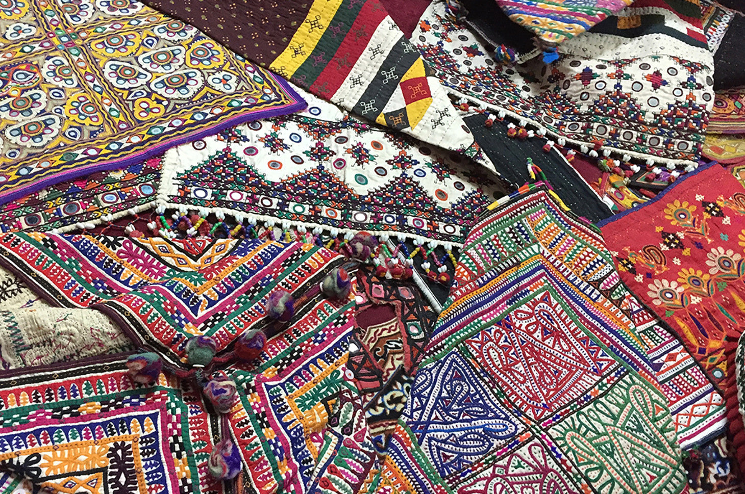 COLORFUL RABARI EMBROIDERY