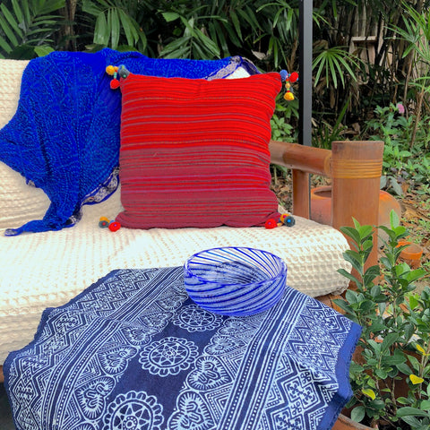 Handmade cushions and fabrics - Pallu Design