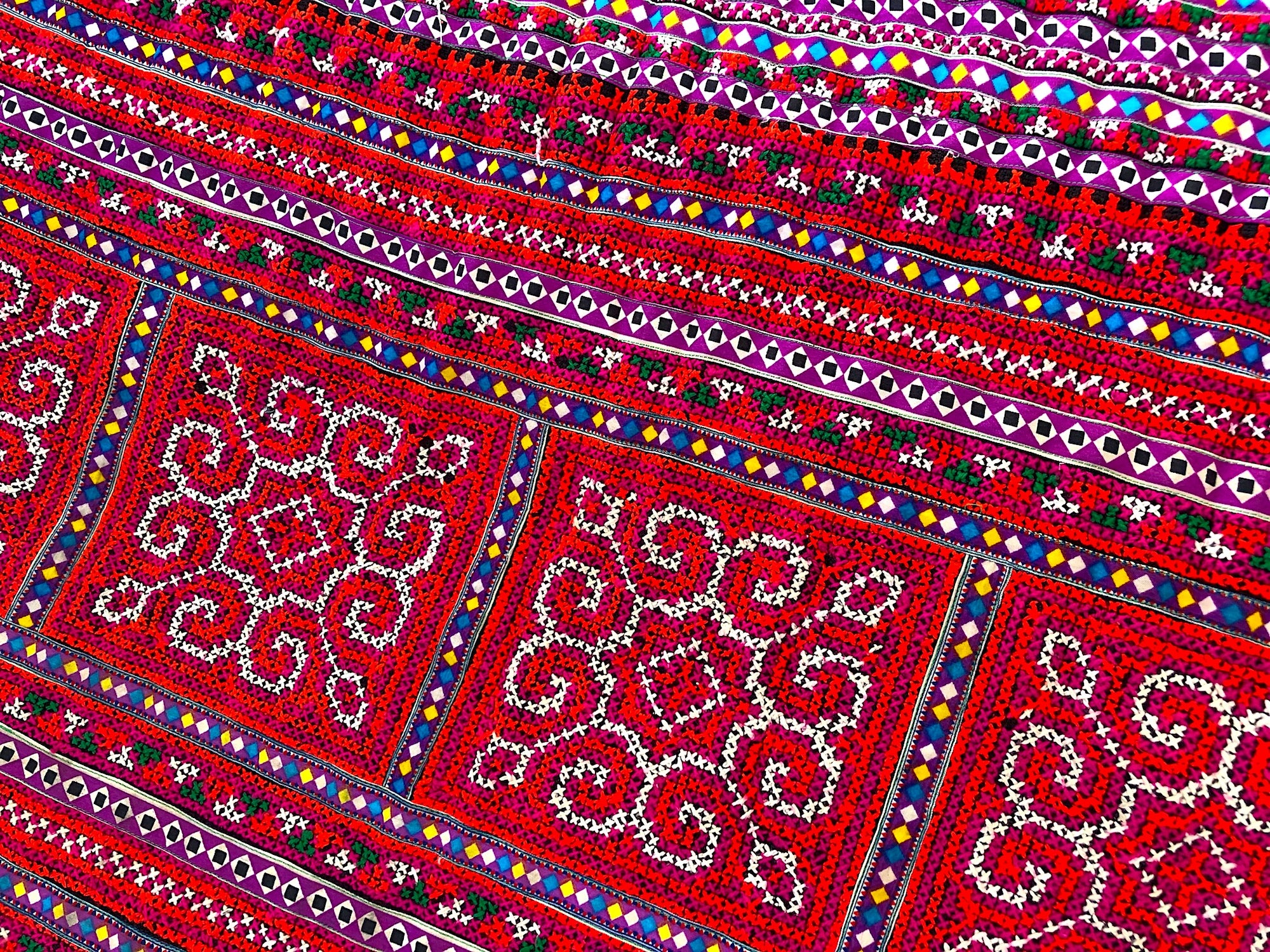 Hmong skirt fabric 2 mt x .5 mt