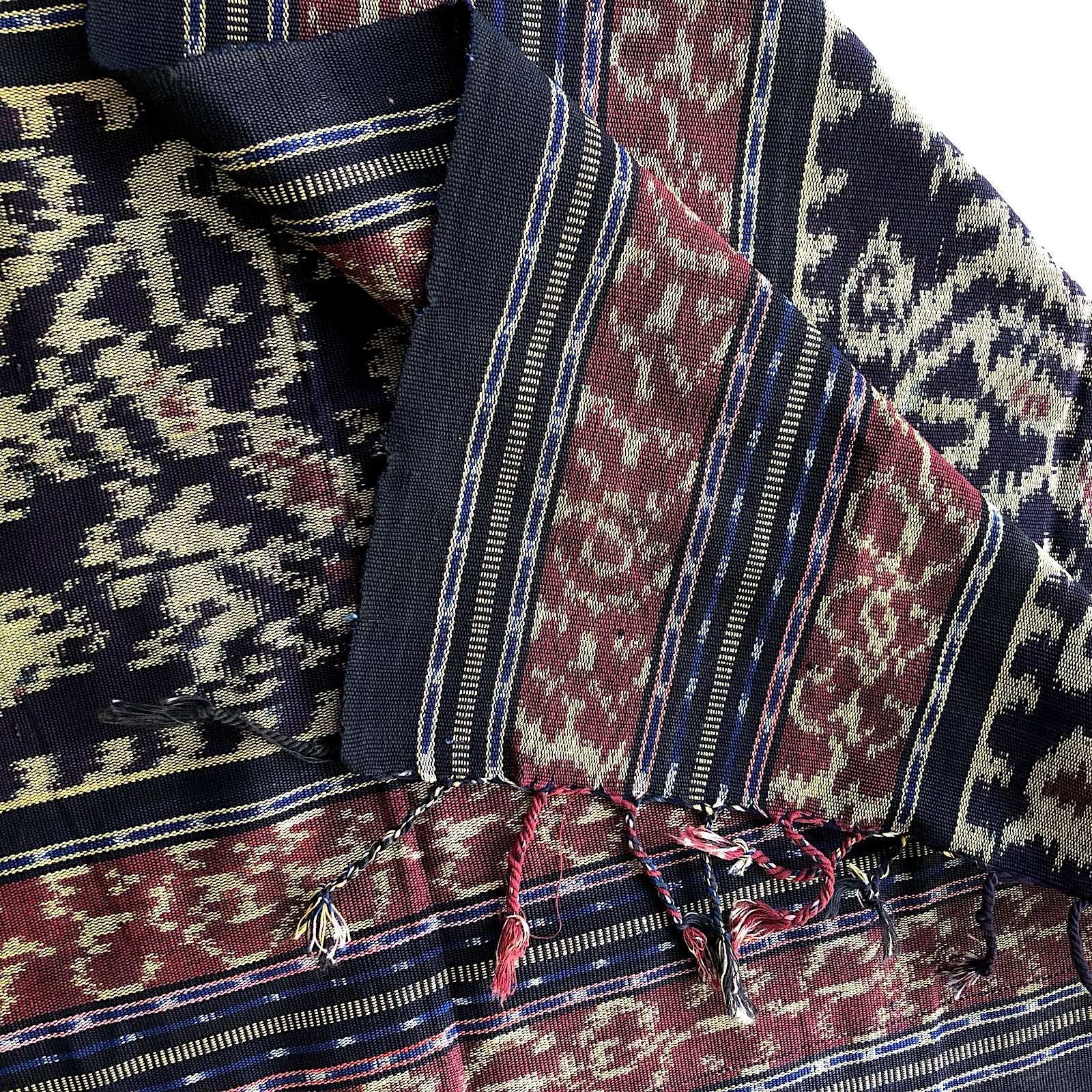Hand woven ikat runner & Decor fabric - Pallu Design