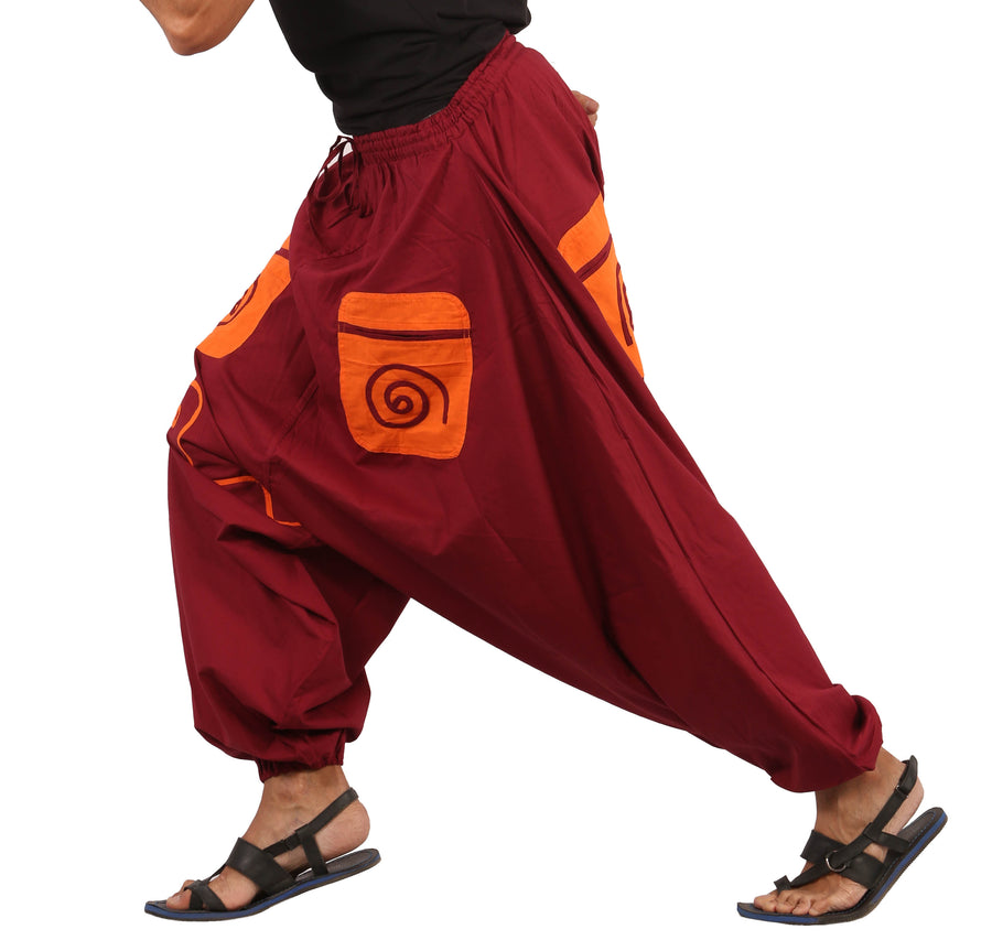 Harem Pants, Maroon Harem Pants, Men Harem Pants, Mens Harem Pants, Boho Pants, Genie Pants, Hippie Pants, Wide Leg Pants, Show me Hippie Pants, Show me some Mens Harem Pants, Show me some Womens Harem Pants, What is a harem pant, Show me some baggy pants, I want to buy harem pants, cool harem pants, Wide leg harem Pants, Cheap Harem Pants, Show me best harem pants, Highly rated Harem Pants, Sarouel, Haremshose, Afgani Pants, One Size Fits All Pants,Show me  XXXL Pants