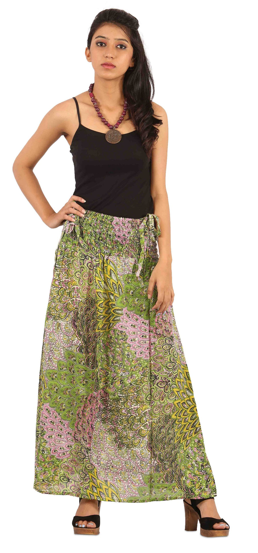 Green Skirt, Skirts For Women, Wrap Around Skirt, High Waisted Skirt, Long Maxi Skirt, Skirts Online, Summer Skirts, Long Skirt, Cute Skirts, Cotton Skirts,Full Skirt, Long Summer Skirts,  Buy Skirts Onlin