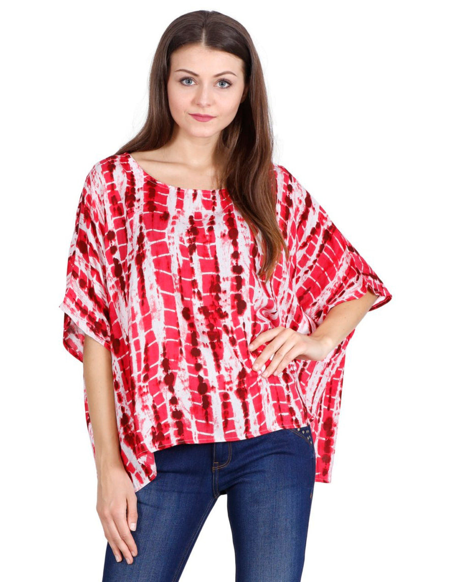 women's rayon tops,rayon tops,maternity tops, evening tops, red tops for women, ladies red tops, red top online, red blouse, red round neck top, rayon top, red embroidered top,embroidered tunic